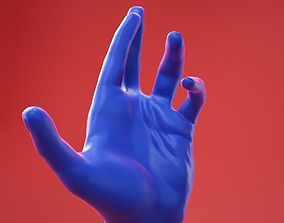 Male Hand 24 3D