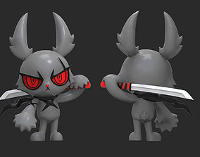 3D print model Dark Rabbit Bloody Bunny