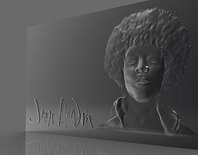 Jimi Hendrix 3D printable model
