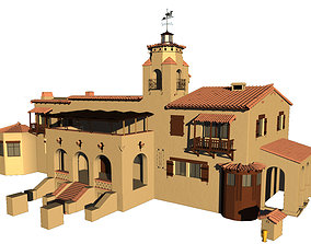 Desert House Facade 3D model