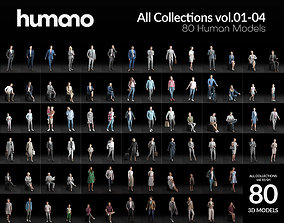 Humano 80 - Library - COMPLETE PEOPLE LIBRARY - 80x 3D