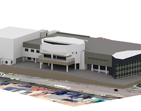 showroom car real world object 3D model