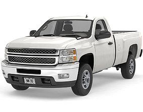 3D model GENERIC HD PICKUP TRUCK 15