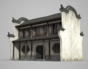 Ancient Southern dwelling in Asia 3D