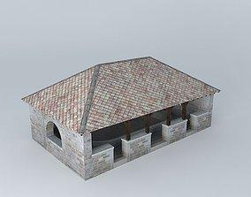 3D model Lavoir de Saint Loup de Varennes