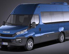 Iveco Daily Minibus 2017 VRAY minibus 3D