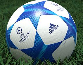 3D model Adidas UEFA Champions League Soccer Ball