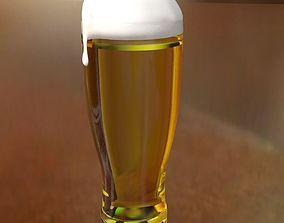 Realistic Beer 3D model