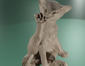 3D printable model Chat sphinx