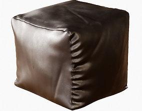 3D Square pouf