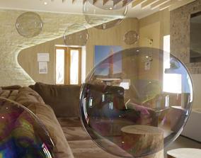 a few soap bubble pack 3D
