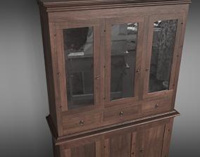 3D Sideboard Credenza
