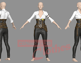 Female War Outfit - 50 Marvelous Designer and