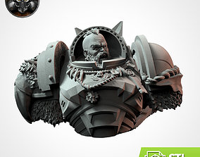 toys 3D print model WOLFFANG Bust