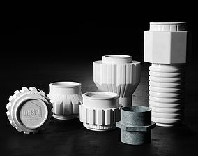 3D Machine Collection Cups and Jars