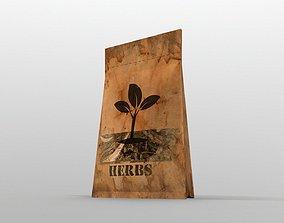 3D model VR / AR ready Herbs