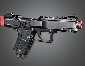 FPS Modern Handgun - Dorn MK2 3D model