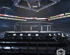 3D model UFC Arena