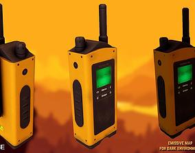 Portable radio - Walkie Talkie 3D asset