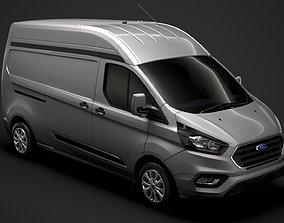 3D Ford Transit Custom L2H2 2020