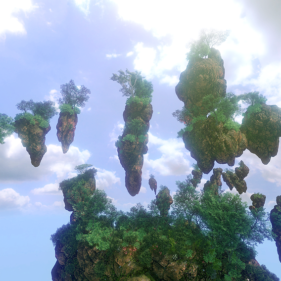 Floating Island Rocks