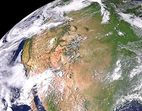 3D Photorealistic Earth in High Resolution