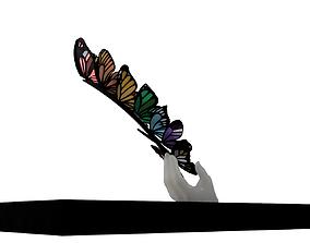 3D print model Hand and Butterflies Art installation