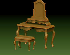 3D print model Table and chair