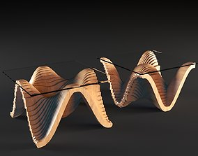 3D Parametric Double-sided Table