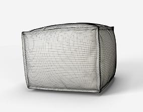3D Cubic Pouf