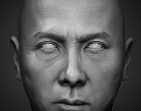 Donnie Yen - likeness sculpt 3D