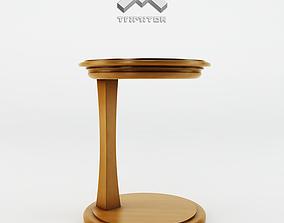 3D model end Side Table - Gem