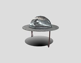 Medieval Sallet 3D asset