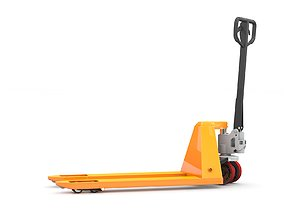 3D animated Hand Pallet Truck