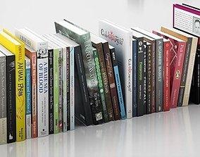 Books household 3D
