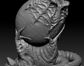 3D printable model Alien Egg artists pen holder