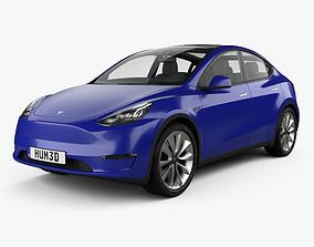 Tesla Model Y 2021 3D