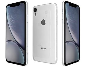 Apple iPhone Xr Coral 3D