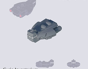 3D printable model Space Passenger Frigate Barnstaple