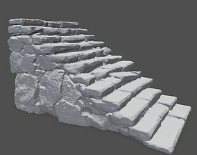 3D printable model stairs 1