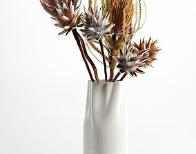 Vase with Flowers 3D