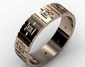 wedding rings 3d file cad