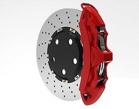Brake system 3D model
