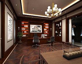 boss manager office 04 3D model