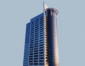 architecture Highrise building - Chevron House 3D asset