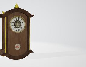 3D asset Old Clock Free