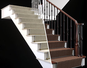 architectural 3D model staircase