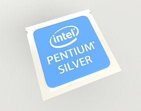 3D model Intel CPU Pentium Silver v1 001