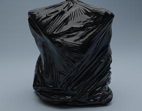 3D asset Trashbag - Large 2