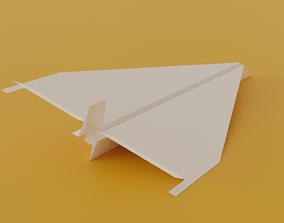 3D model Paper Plane aeroplane